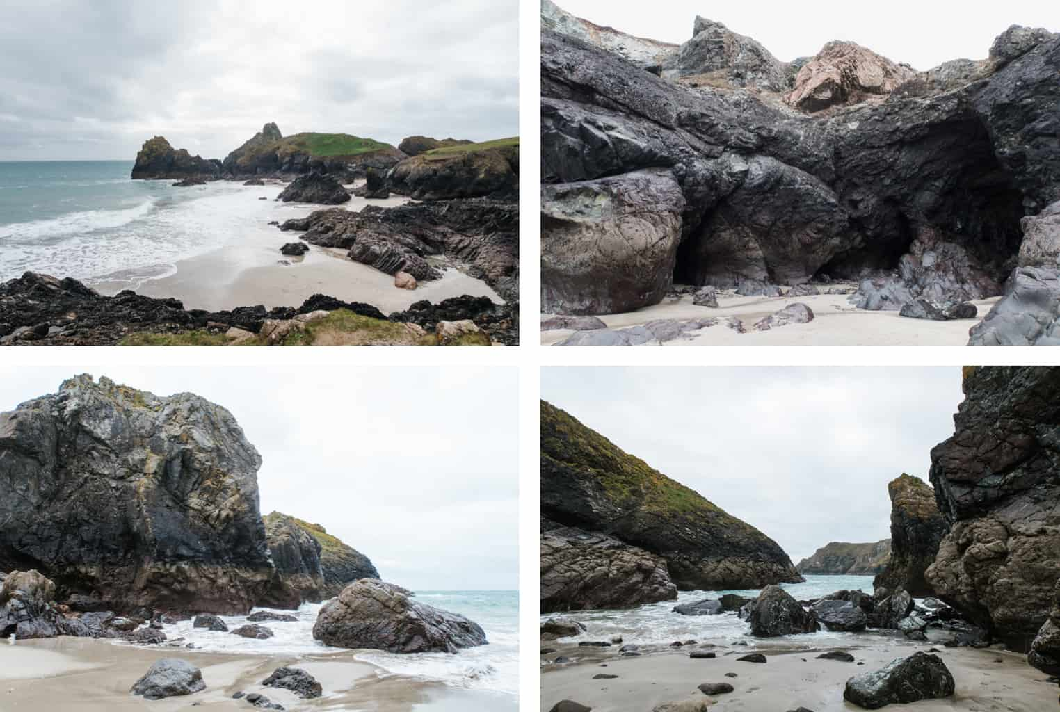 exploring cornwall coast photo diary