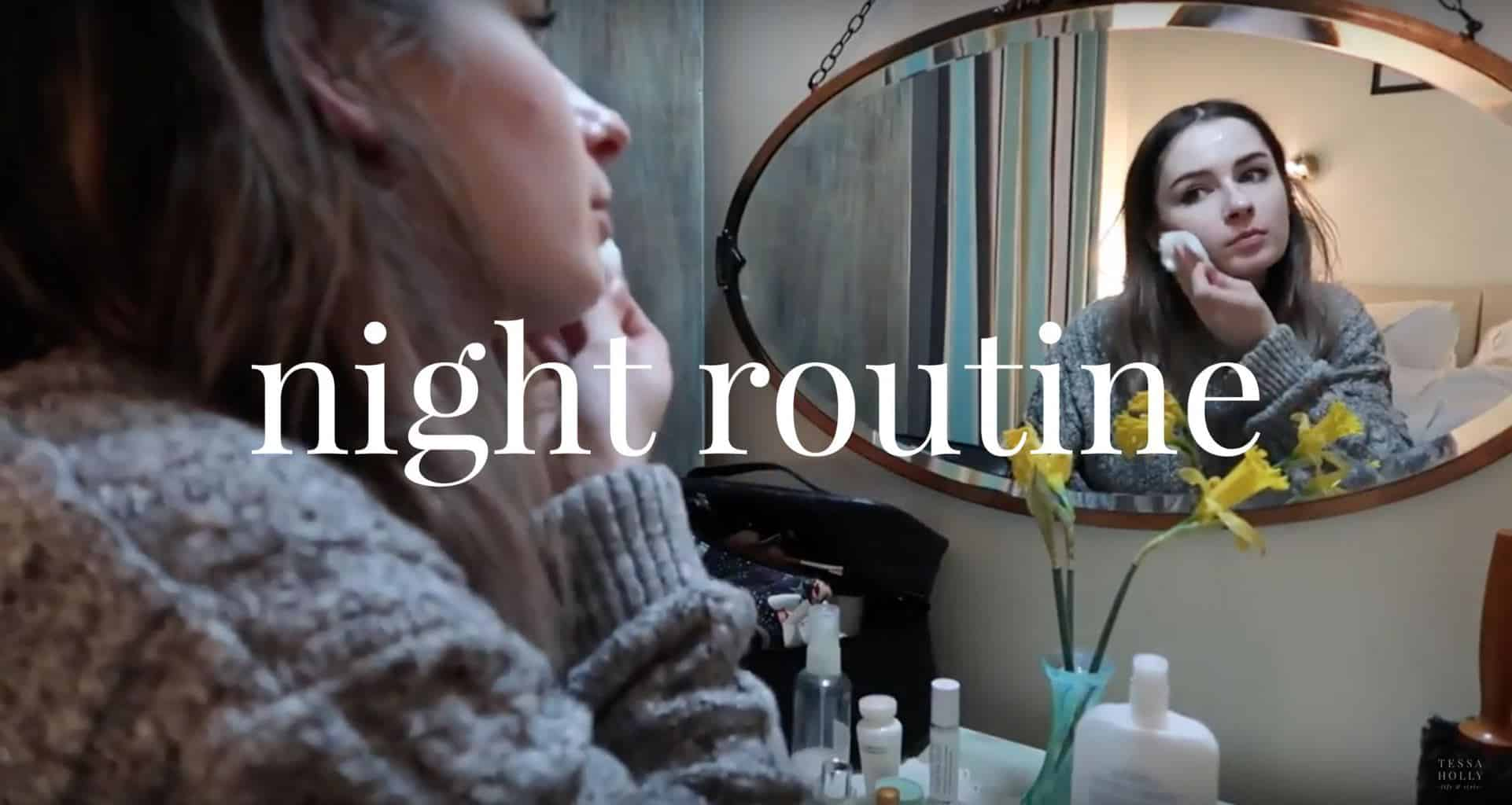 night time routine get unready with me