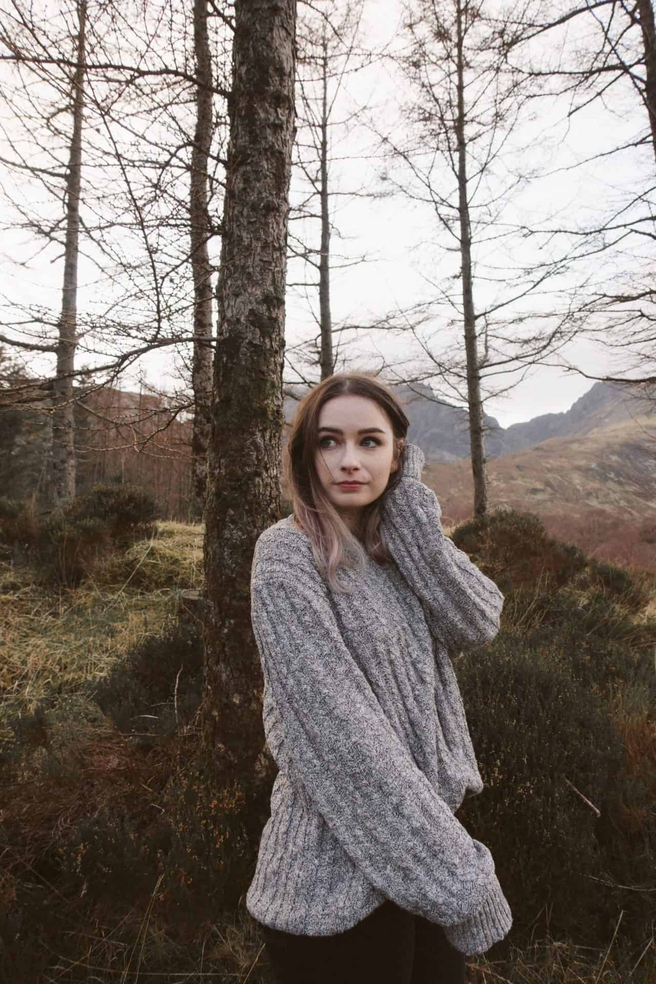 4 ways to style knitted jumper