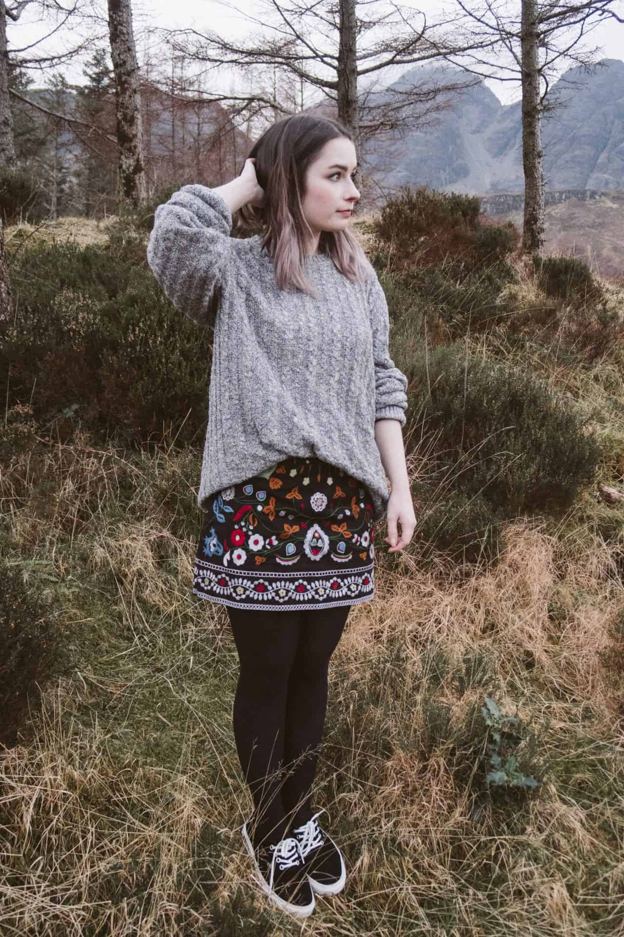 4 ways to style a knitted jumper