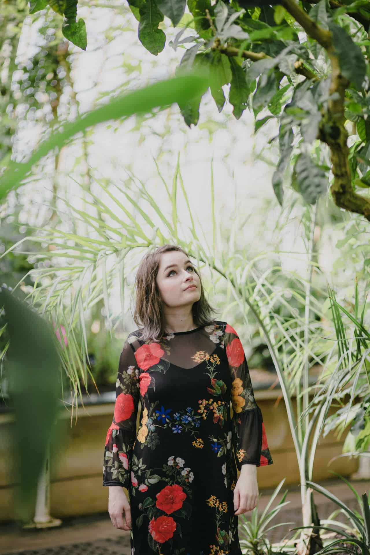 Florals In The Palm House | OOTD