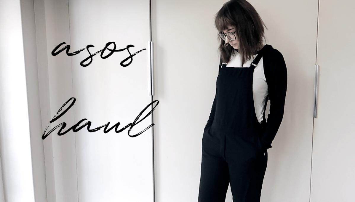 asos haul spring 2018 monochrome style