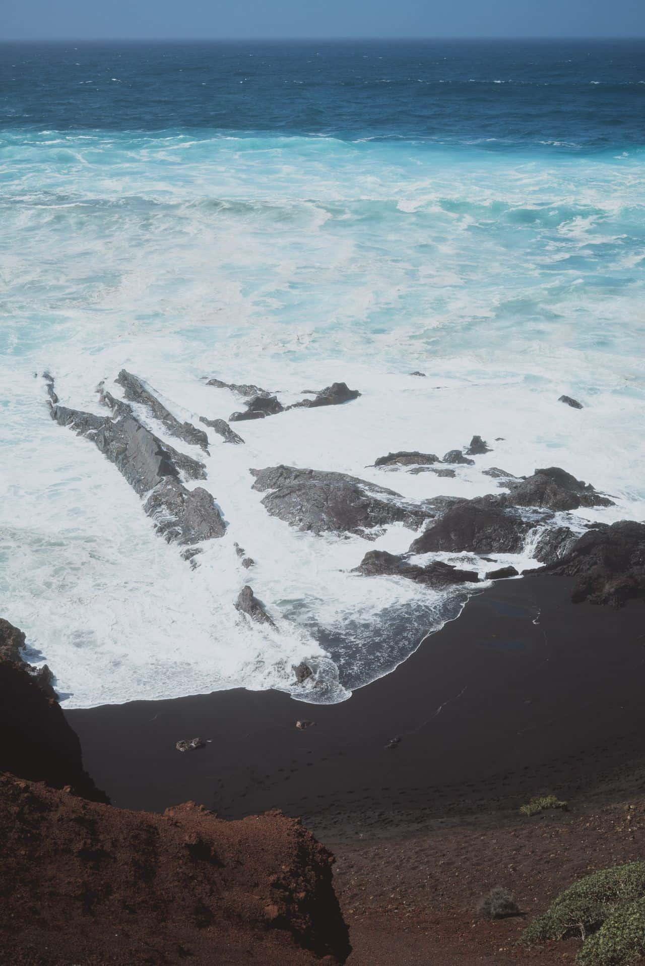black sand beaches lanzarote