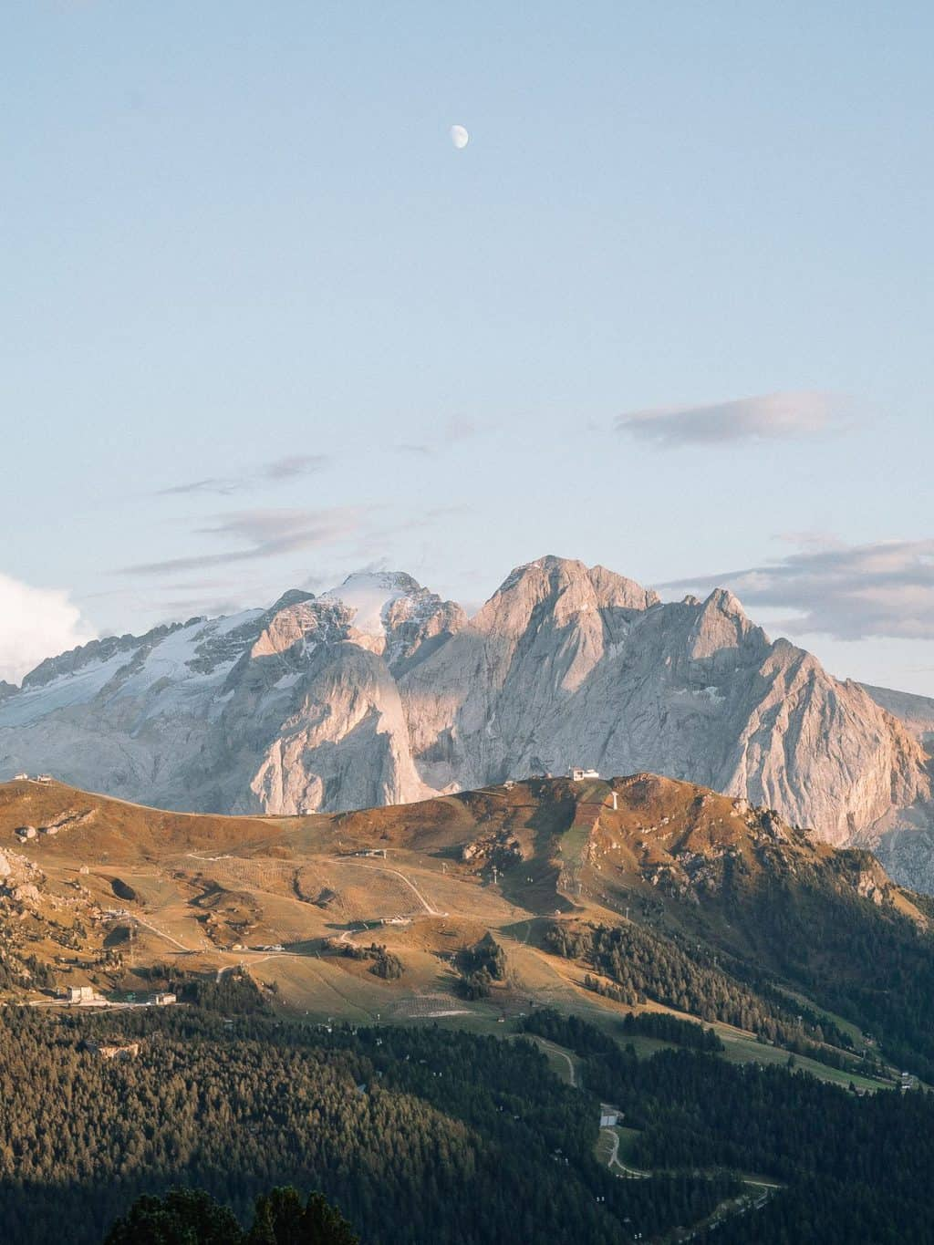 Sella Pass the best mountain passes in the dolomites